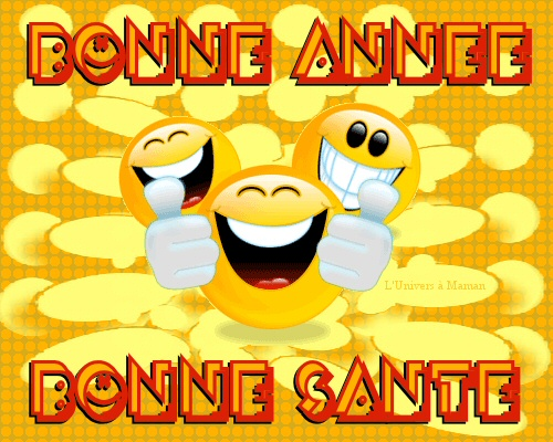 Bonne Année smile